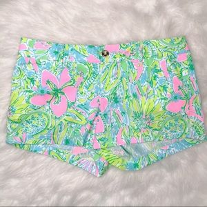 Lily Pulitzer Walsh Short in Coconut Jungle